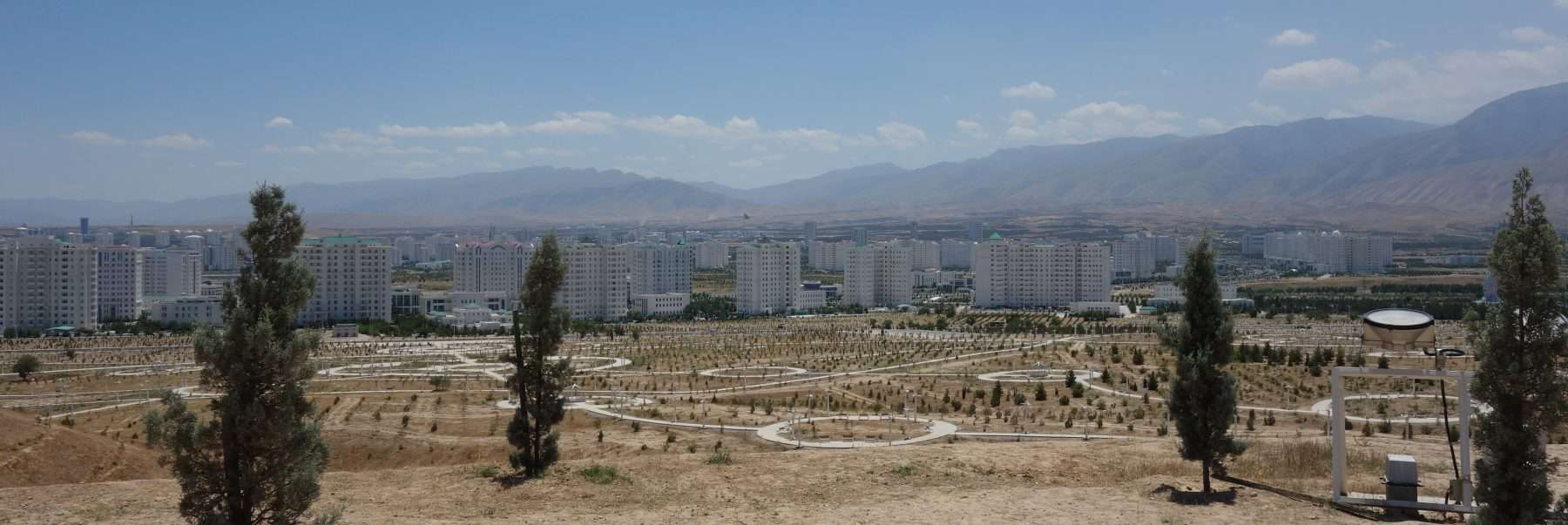 View of Ashgabat