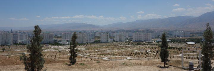 View of Ashgabat