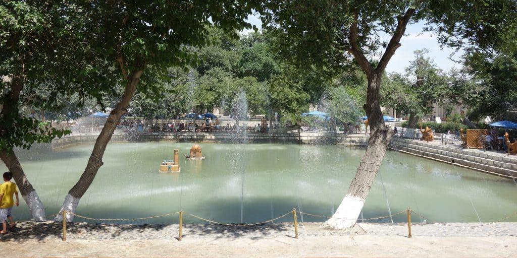 Lyabi-Hauz in Bukhara