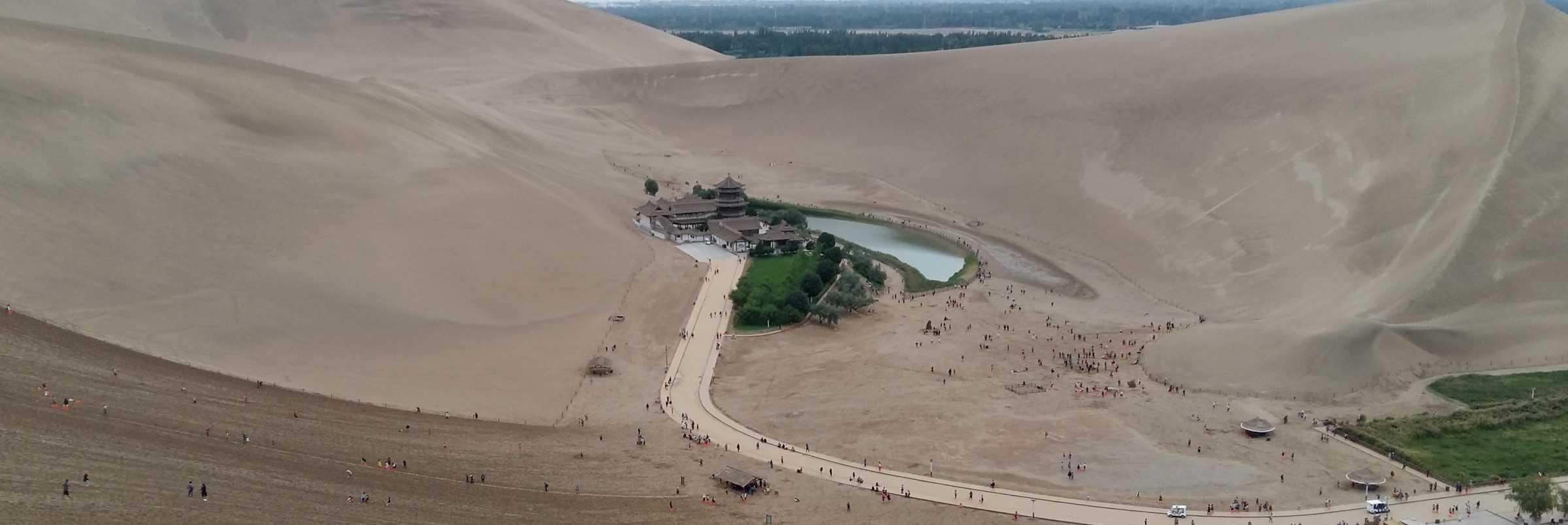 Crescent Lake, Dunhuang, China