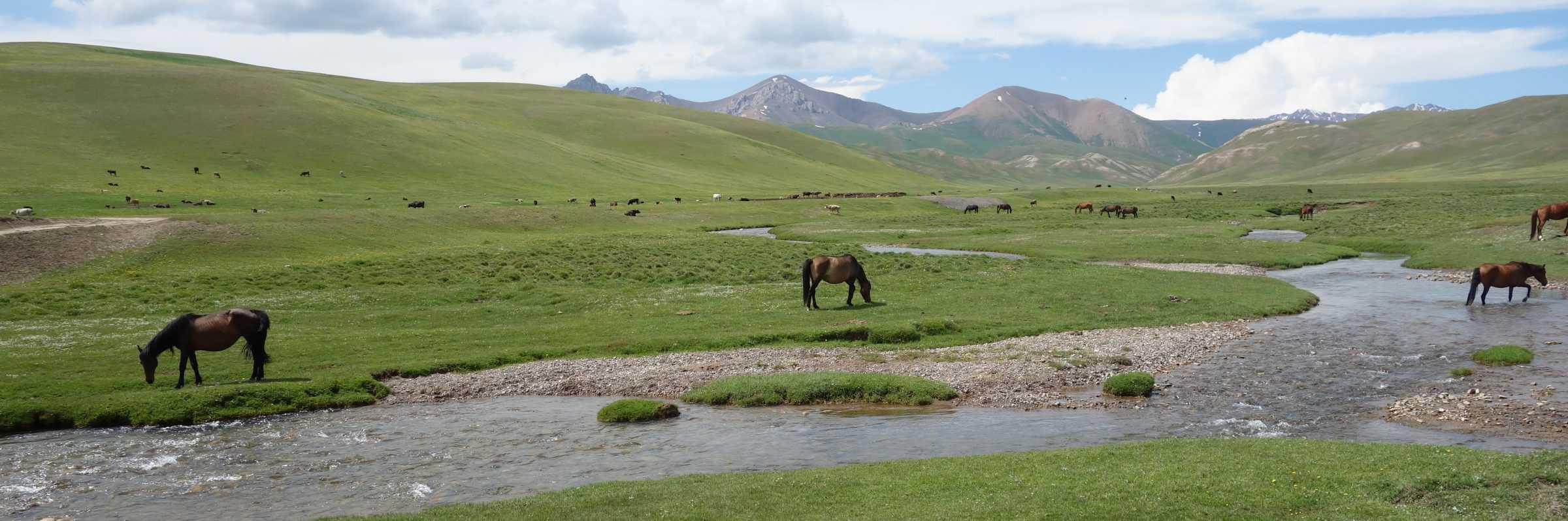 Lake Song-Kul, Kyrgyzstan