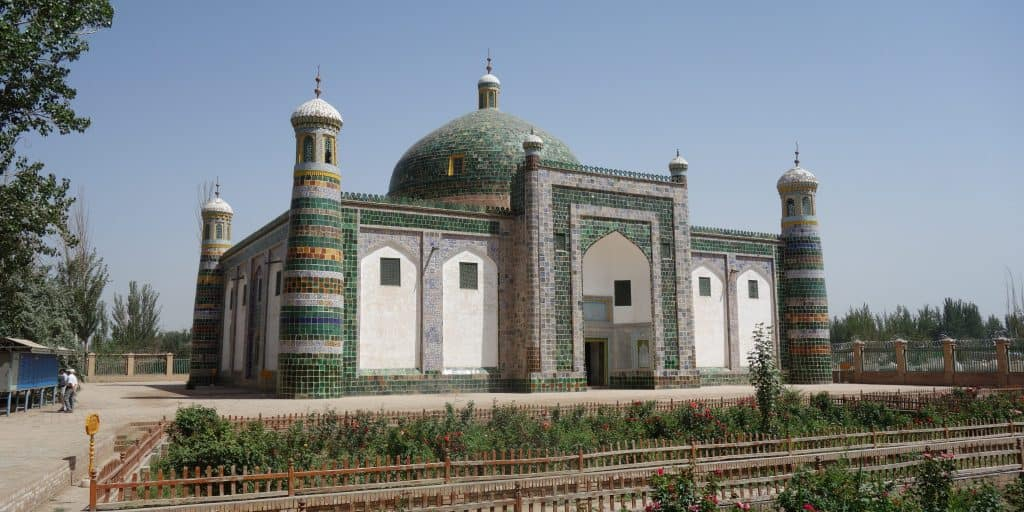 Mausoleum, Kashgar, China