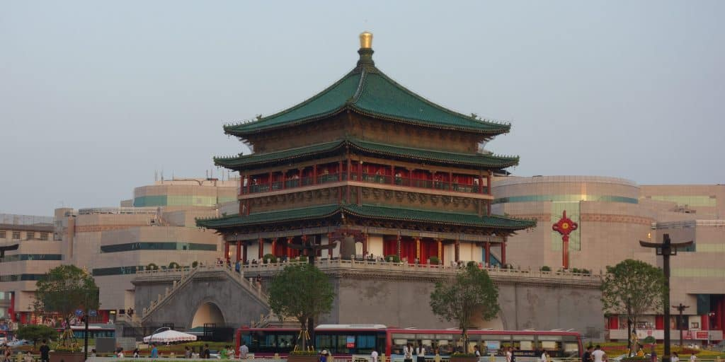 Bell Tower, Xian, China