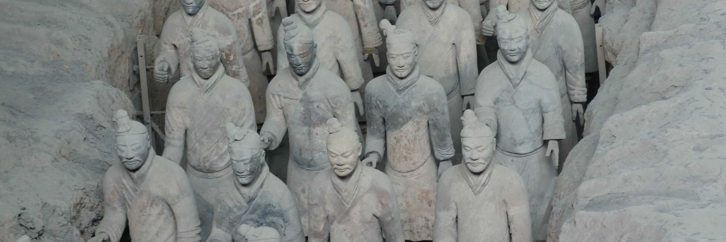 Terracotta Warriors, Xian, Chengdu