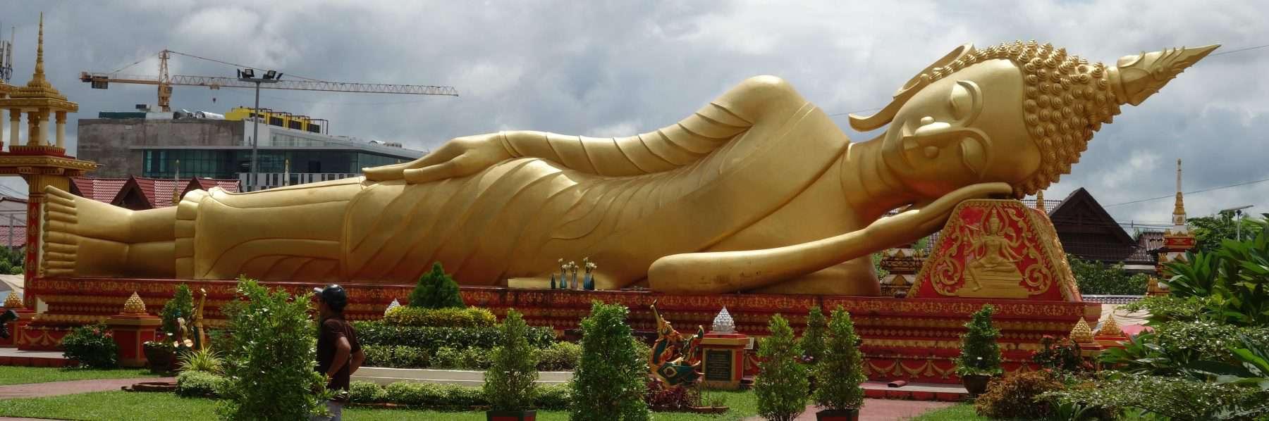 Pha That Luang, Vientiane, Laos
