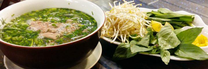 Pho Noodle Soup, national dish in Vietnam