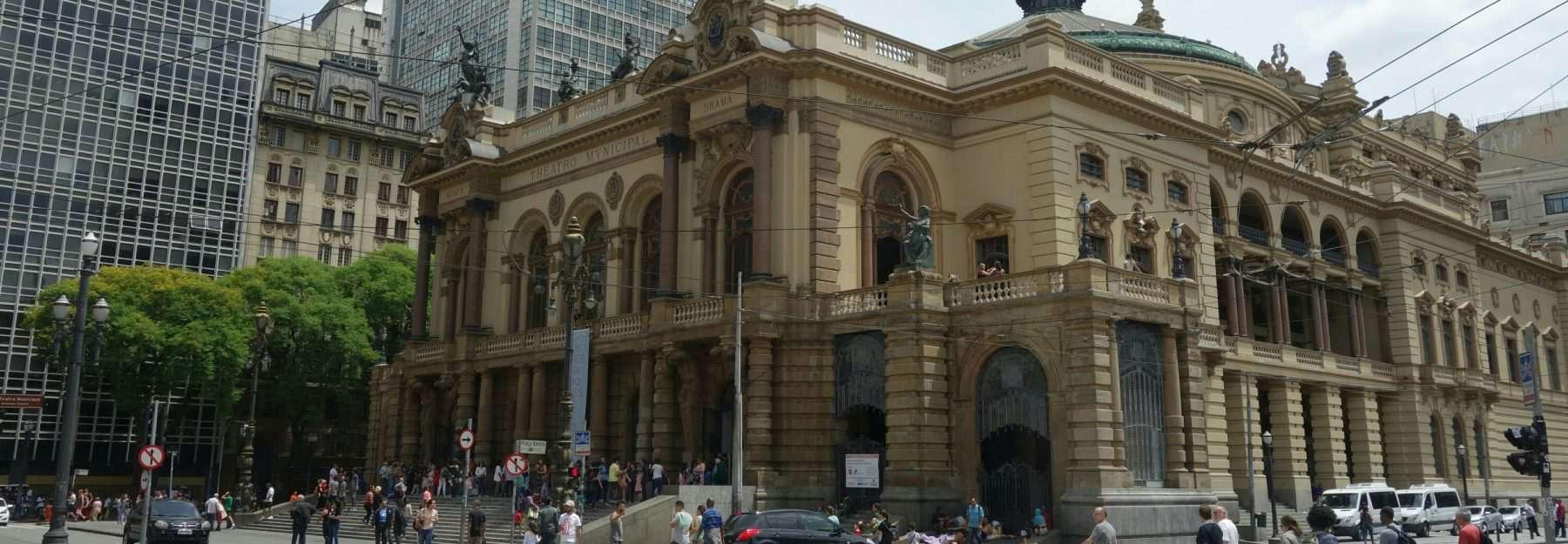 Teatro Municipal, Sao Paulo, Brazil