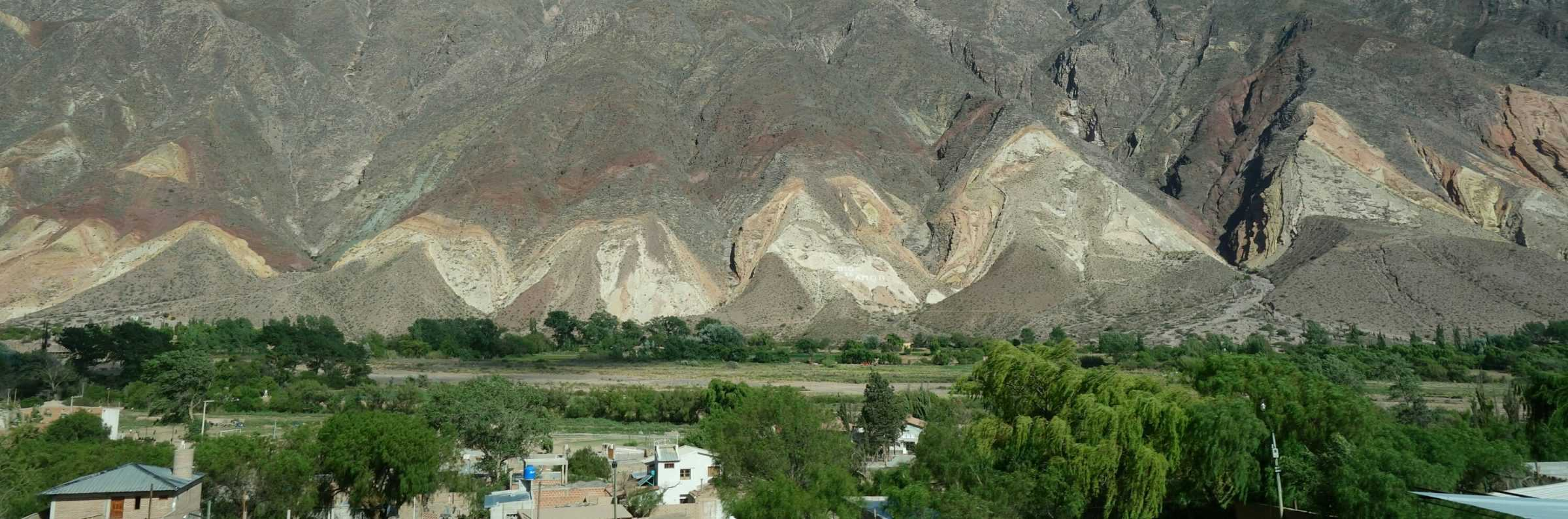 Multi-coloured mountains, Quebrada de Humahuaca, Argentina