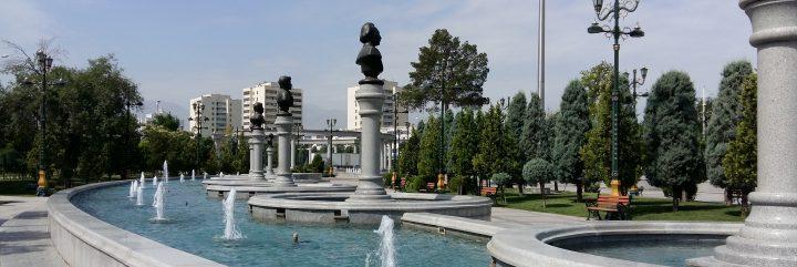 Ashgabat fountain
