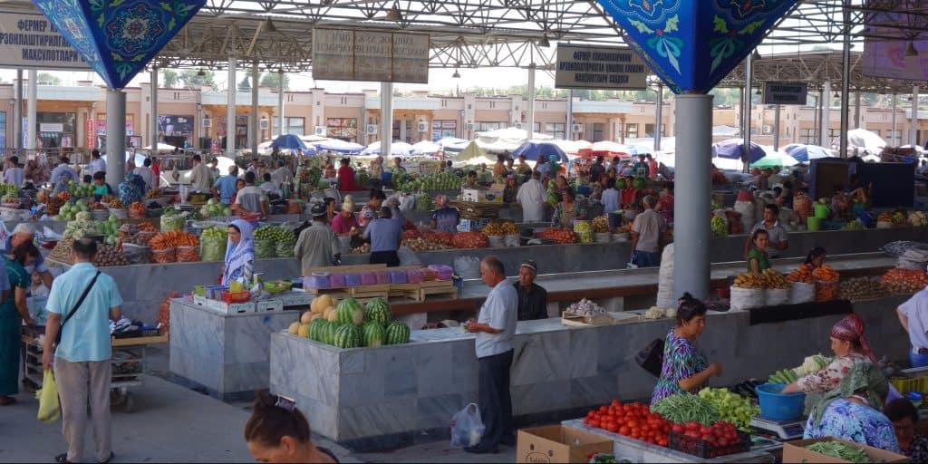 Bazaar in Samarkand