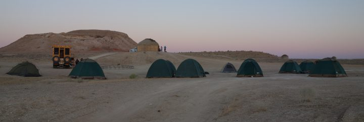 Bushcamping, Turkmenistan