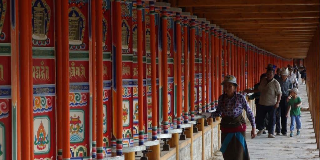 Labrang Monastery, Xiahe, China