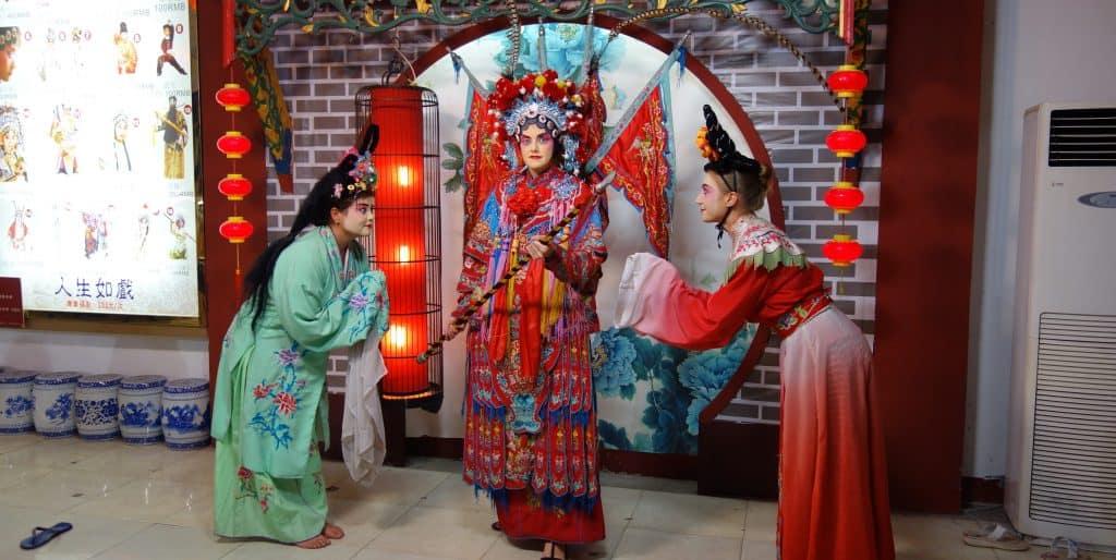 Sichuan Opera, Chengu, China