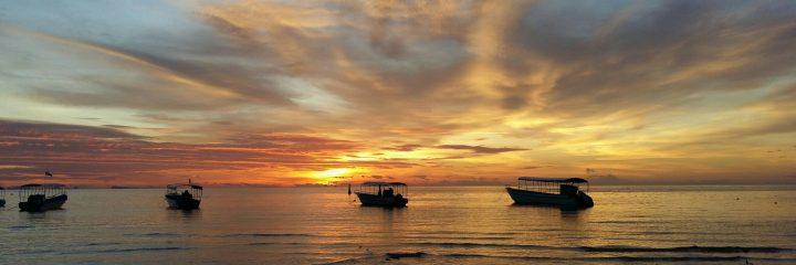 Sunset, Haad Yao, Koh Phangan, Thailand
