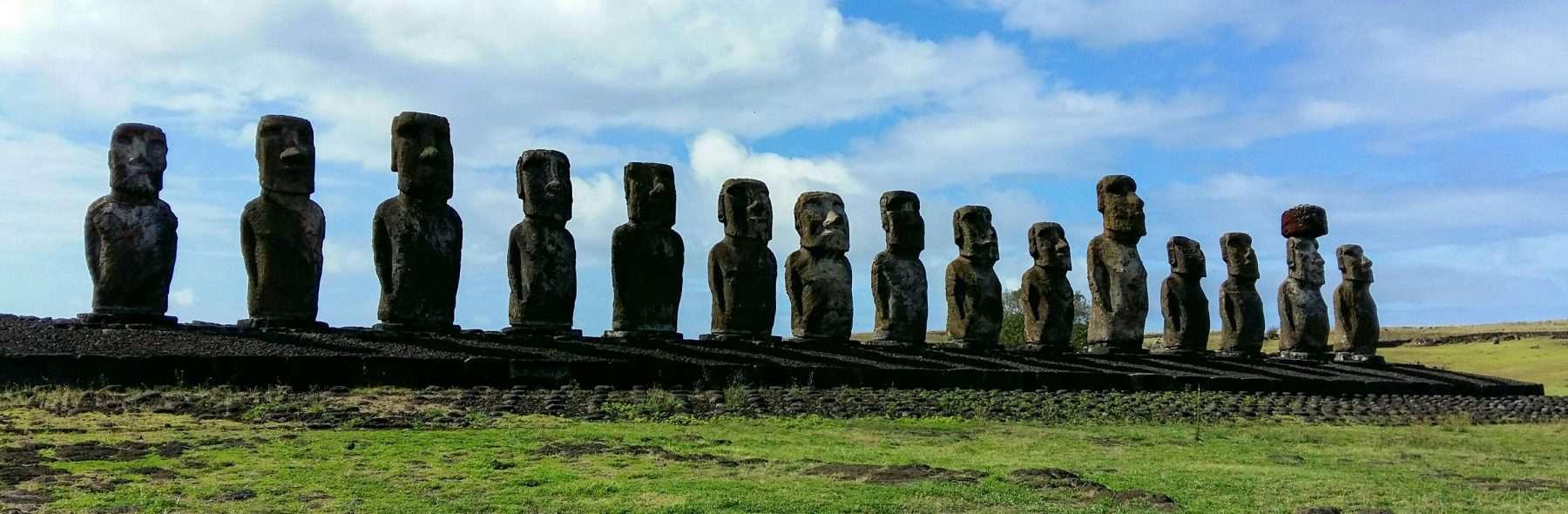 Ahu Tongariki, Easter Island, Rapa Nui, Chile
