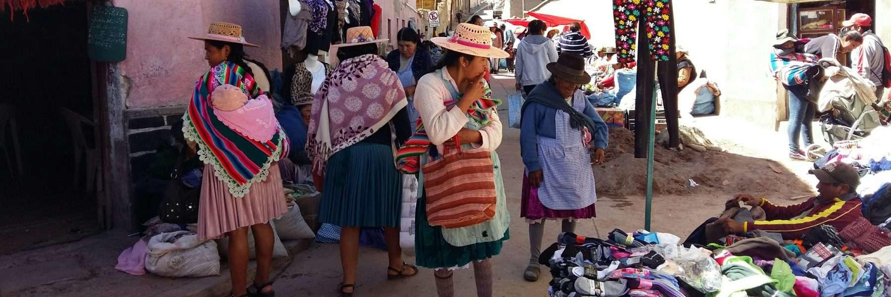 Miners Market in Potosi, Bolivia
