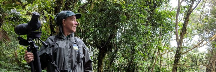Ricardo, our tour guide in Monteverde Cloud Forest, Costa Rica